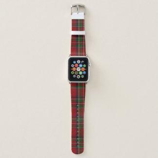 Königliches kariertes Apple Uhrenarmband Stewart Apple Watch Armband