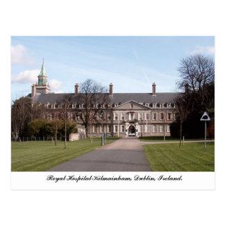 Königliches Krankenhaus Kilmainham, Dublin Irland Postkarte