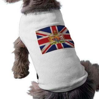 Königliches Wappen auf Gewerkschaft Jack Shirt