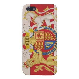 Königliches Wappen auf Gewerkschafts-Jack-Flagge Etui Fürs iPhone 5
