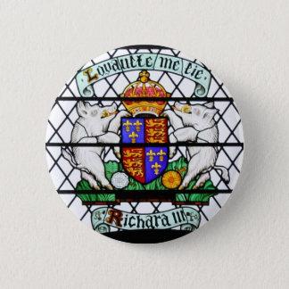 KÖNIGREICH-BUNTGLAS RICHARD III RUNDER BUTTON 5,7 CM