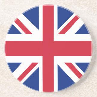 Königreich-Gewerkschafts-Jack-Flagge Getränkeuntersetzer