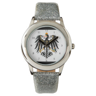 Königreich Preussen Nationalfahne Armbanduhr