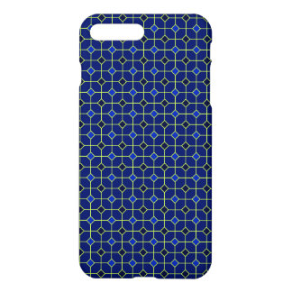 Königsblau-antiker Fliesen-Entwurfs-Fall iPhone 8 Plus/7 Plus Hülle