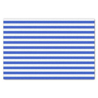 Königsblau-Kombinations-Streifen durch Shirley Seidenpapier