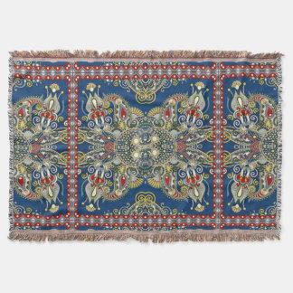 Königsblau-orientalischer Entwurf Decke