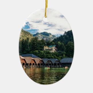 Konigssee, See der Könige. Deutschland Keramik Ornament
