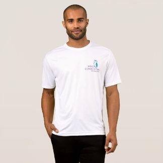 Konkurrenten-Shirt der Sport-Tek der klugen Männer T-Shirt