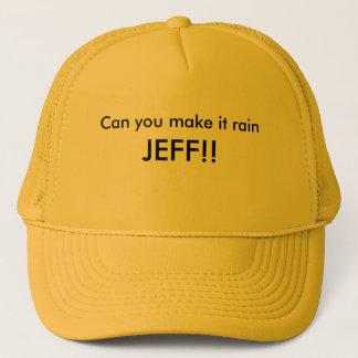 Können Sie es regnen lassen, JEFF!! Truckerkappe