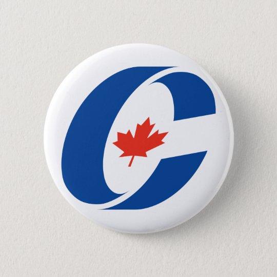 Konservatives Party-Logo Runder Button 5,1 Cm