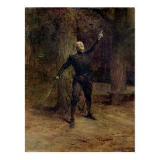 Konstantes Coquelin als Cyrano De Bergerac Postkarte