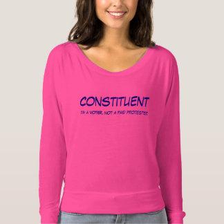 Konstituierendes Damen-T-Stück T-shirt