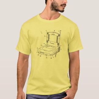 Kontextfreies Videospiel-Patent-Kunst-Shirt T-Shirt