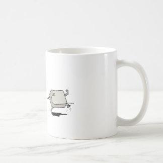 Kontrolle gegen Entweichen Kaffeetasse