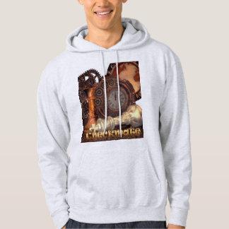 Kontrollpunkt-Sweatshirt Hoodie