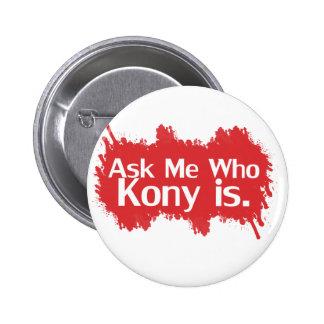 Kony 2012 badge rond 5 cm