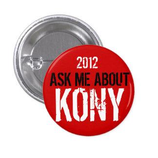 Kony 2012 badge avec épingle