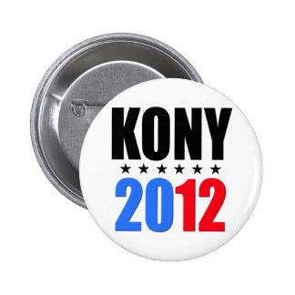 Kony 2012 badges avec agrafe