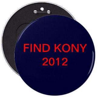 KONY PIN'S AVEC AGRAFE