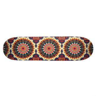 Konzentrische Balance von Farben 18,1 Cm Old School Skateboard Deck