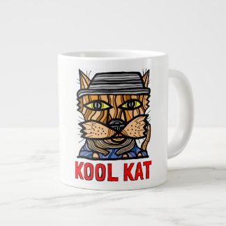 """Kool Kat"" riesige Tasse"