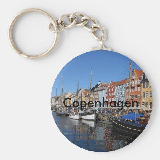 Kopenhagenschlüsselkette Standard Runder Schlüsselanhänger