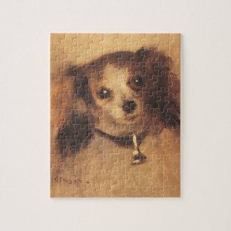 Kopf eines Hundes durch Pierre Renoir, Vintage