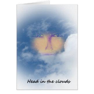 Kopf in den Wolken Karte