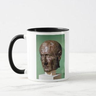 Kopf von Trajanus Decius von Samisegetuza Tasse