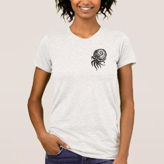 Kopffüßer-Entwurfs-Shirt der Frauen Stammes- T-Shirt