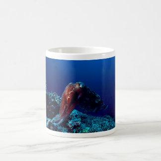 Kopffüßer Kaffeetasse