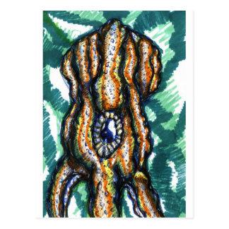 Kopffüßer Oceanus Postkarte