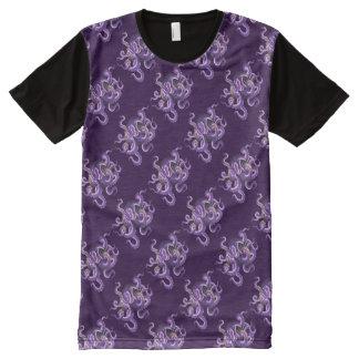 Kopffüßer T-Shirt Mit Bedruckbarer Vorderseite