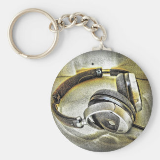 Kopfhörer Schlüsselanhänger