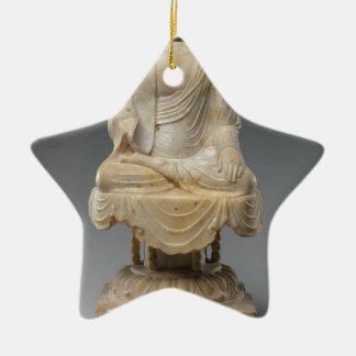 Kopfloser Buddha - Tang-Dynastie (618-907) Keramik Stern-Ornament