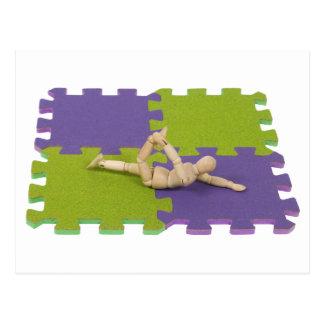 Kopie GymnasticsStretching112809 Postkarte