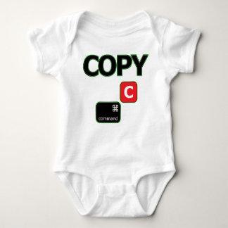 Kopieren Sie Mac-Zwillings-Baby-Jersey-Bodysuit Baby Strampler