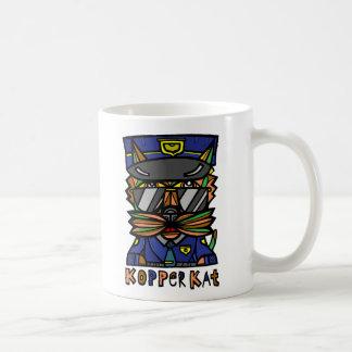 """""""Kopper Kat"""" 11 Unze-Klassiker-Tasse Kaffeetasse"""