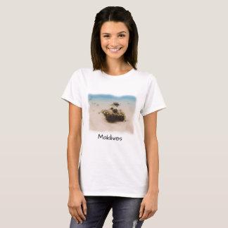 Korallenrote Fisch-Andenken Spaß-Malediven T-Shirt
