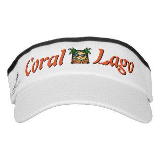 Korallenrote Lago Logo-Maske Visor