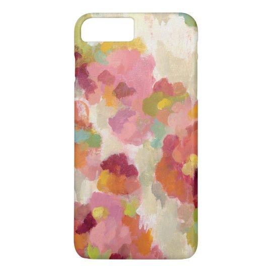 Korallenroter und Smaragdgarten iPhone 7 Plus Hülle