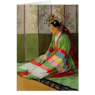 Koreanische Braut Karte