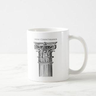 Korinthischer Auftrags-Spalten-Tasse Tasse