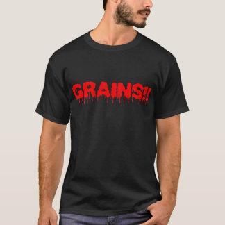 Körner!!! Was? Ich bin ein vegetarischer Zombie T-Shirt
