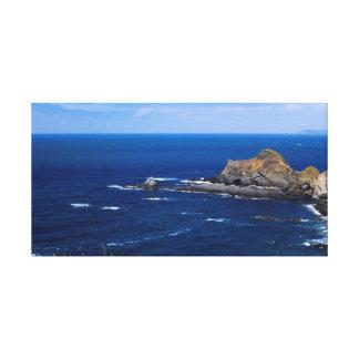 Kornische Küste Leinwanddruck