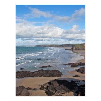 Kornische Küstenlinie Postkarte
