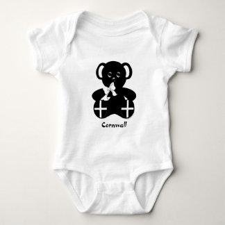 Kornischer Flaggen-Teddybär Baby Strampler