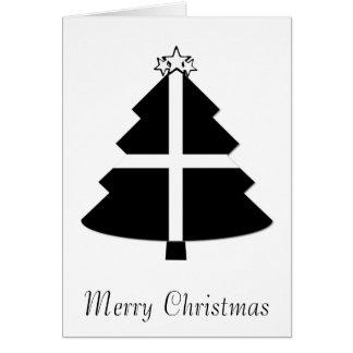Kornischer Flaggen-Weihnachtsbaum Karte