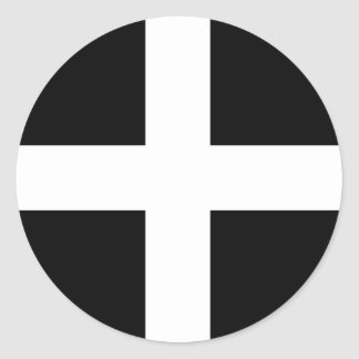 Kornischer Flaggenaufkleber Runder Aufkleber