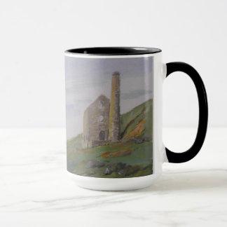 Kornisches Zinn-Bergwerk Tasse